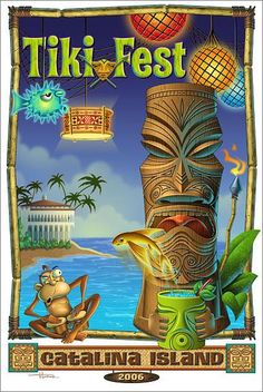 eBay: Doug Horne art on ebay. Auctions end tonight! -- Tiki Central