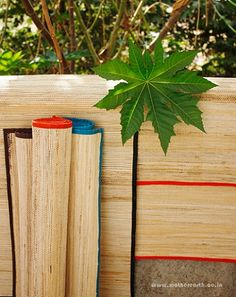 These banana bark mats will soon be at all Mother Earth stores...