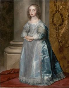 Princess Mary, Daughter of Charles I  about 1637  Anthony van Dyck, Flemish, 1599–1641
