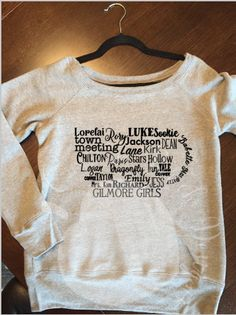 EVERYTHING GILMORE GIRLS sweatshirt