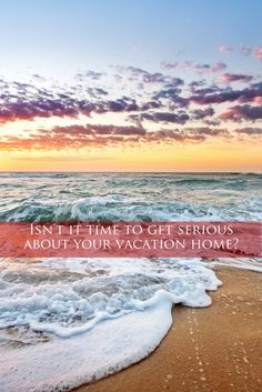 The best time to buy a vacation home is 10 years ago.  The second best time is today!  Might be a little cliche, but that doesn't make it false.  Tell me about your dream #getaway home.  You might be closer to it than you think!  #vacationhome #lakehouse #beachhouse #mountainhouse #beachhome #weekendhome #realestate #beach #lake #relax