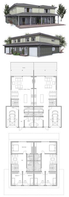 Treppe mit Küche tauschen, damit Herd nah am Fenster; office+Gast WC --> Gastzimmer; utility--> Gast WC; plus Keller ca. 16x15 m