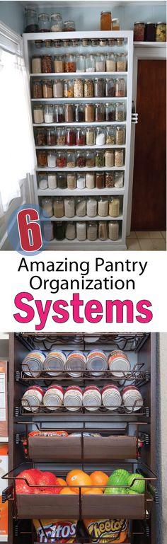 Pantry Organization Systems