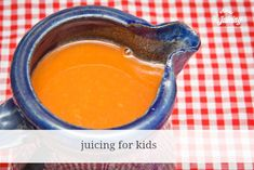 Juicing for kids. They love fresh juice…and it's a great way to give them good nutrition.all-about-jui… Juicing for kids. They love f Juice Recipes For Kids, Healthy Juice Recipes, Healthy Juices, Smoothie Recipes, Ninja Recipes, Nutribullet Recipes, Blender Recipes, Clean Recipes, Smoothies For Kids