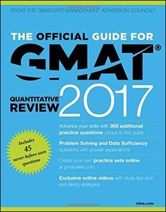 The Official Guide for GMAT Quantitative Review 2017 with Online Question Bank and Exclusive Video Reading Online, Books Online, Gmat Exam, Gmat Prep, Life Coach Quotes, Open Library, Library Books, Book Show, Ebook Pdf