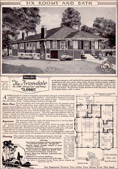 Sears Roebuck Kit Houses, 1923   Retronaut