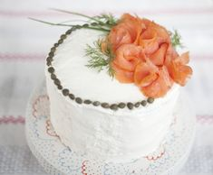 Today I am sharing some gorgeous sandwich cakes. They are so creative and beautifully garnished. They would be ideal for a luncheon or bridal shower. Party Sandwiches, Sandwich Cake, Fancy Food Presentation, Fondant, Cake Shapes, Frozen Chocolate, Cream Cheese Spreads, Brunch Wedding, Wrap Recipes