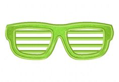 Shutter Shades Available In Both Applique and Stitched