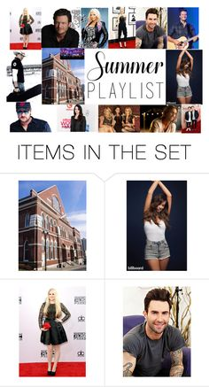 """""""Summer Playlist"""" by e-flanagan ❤ liked on Polyvore featuring art and Summerplaylist"""