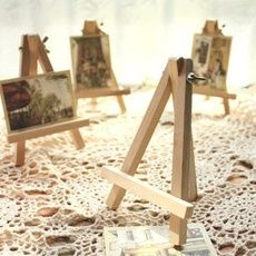 Mini Artist Wooden Easel Wood Wedding Table Artwork Name Card Stand Display Holder For Party Decoration Party Decoration, Table Decorations, Wooden Easel, Wedding In The Woods, Name Cards, Types Of Wood, Mini, Wedding Table, Triangle