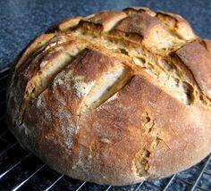Sourdough Rye Rounds ~ Recipe Fiction