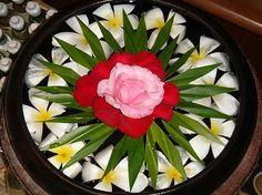 Flower Rangoli_ Water
