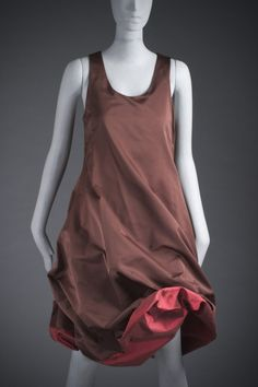 * Woman's Dress spring/summer 2003 Acetate and polyester plain weave © Jean Paul Gaultier Jean Paul Gaultier, 20th Century Women, 2000s Fashion, Jeans Dress, Spring Dresses, Art Music, Body, Women Wear, Normcore