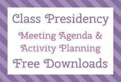 The Personal Progress Helper: Class Presidency Meeting Agenda & Activity Planning Young Women Crafts, Young Women Activities, Mutual Activities, Activity Day Girls, Activity Days, Meeting Agenda Template, Young Women Lessons, Lds Youth, Class Meetings
