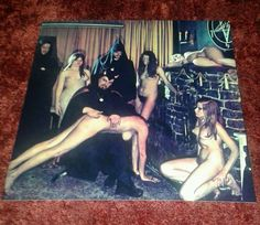 Anton LaVey Coven of Nude Witches - Color Publicity Photo, Satan, Satanic, Spank