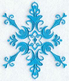 Damask Snowflake 3