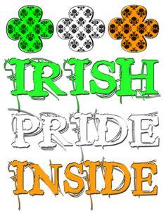 St Patrick's day T shirt designs - St. Patrick's Day Irish Pride Design tshirt