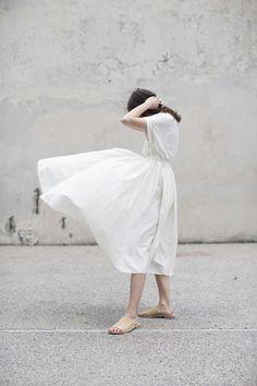 White dream skirt
