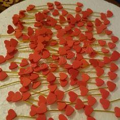 Alguien está preparando sus flechas para el 14 de Febrero, así q cuidado que va a enamorar aun más... ♥♥♥ #foamy #madrid #manualidades #artesanía #hechoamano #corazon