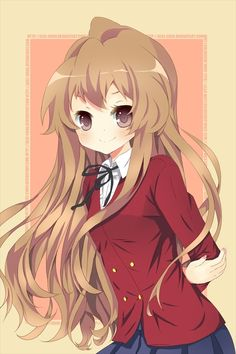 ♡ On Pinterest @ kitkatlovekesha ♡ ♡ Pin: Anime ~ Toradora ~ Taiga Aisaka ♡