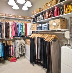 43 Highly Organized Closet Ideas – Dream Closets