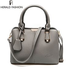 Cheap fashion shoulder bags, Buy Quality shoulder bags directly from China bag casual Suppliers: Herald Fashion PU Leather Top-handle Women Handbag Solid Ladies Lether Shoulder Bag Casual Large Capacity Tote Crossbody Bags Burberry Handbags, Tote Handbags, Leather Handbags, Crossbody Bags, Satchel Bag, Hermes, Latest Bags, Casual Bags, Mode Inspiration