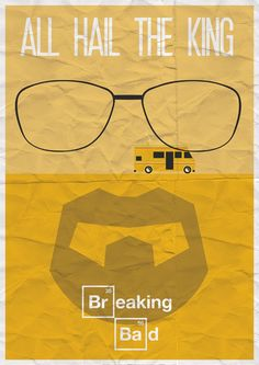 Minimalistic Breaking Bad Poster