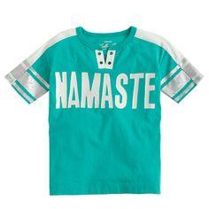 J.Crew+-+Girls'+namaste+T-shirt