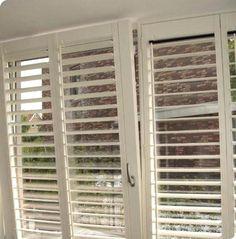 Built in window treatment for tilt & turn windows
