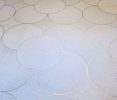 TRISTAN AUER: French Eclectic Savoir Faire  |  Circular floor pattern