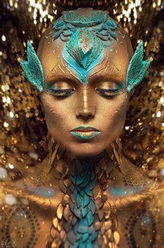 For Lashmaker Model: Adel MUA: MUA: Elena Yatkivskaya Body Art: Valery Star Edited by Big Bad Red  www.FlexDreams.com