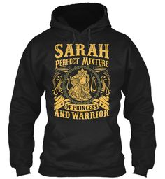 Sarah Pefect Mixture Of Princess Black Sweatshirt Front
