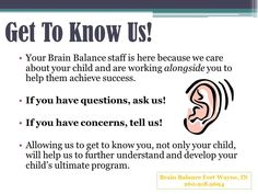 Tips from our successful parents Brain Balance Fort Wayne, IN 260-918-9694