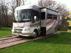 2007, Winnebago Adventurer 35A  slides, built on a Workhorse W-24 chassis with an 8.1 L Vortec V8 and Allison 2100 series 6-speed electronic overdrive transmission. This coach has HWH hydraulic leveling jacks, aluminum wheels - See more at: http://www.rvregistry.com/used-rv/1001316.htm#sthash.ttbfk0PJ.dpuf