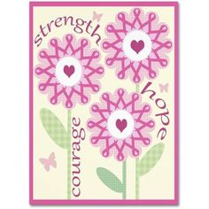 Trademark Fine Art Pink Ribbon Flowers Canvas Art by Jennifer Nilsson, Assorted