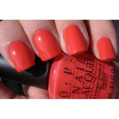 OPI on collins ave - My go to hot red for summer toes!