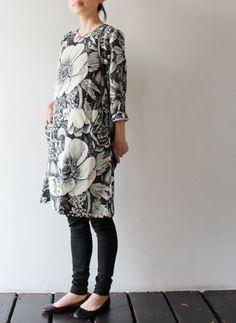 beautiful flower pattern / marimekko 'noia' dress