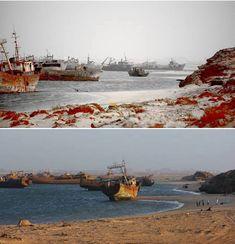 Ship Graveyard (Mauritania)
