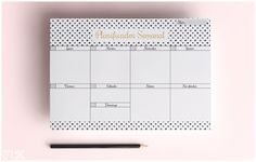 Planificador semanal imprimible. Gratis. Diy Agenda, Agenda Planner, Printable Planner, Planner Stickers, Printables, Planners, Study Tips, Diy Projects To Try, Filofax