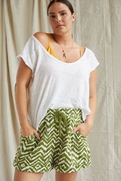 Workout Essentials, Lounge Shorts, Plus Size Shorts, 50 Fashion, Exclusive Collection, Poplin, Lounge Wear, Personal Style, Anthropologie