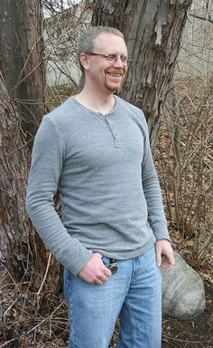 Strathcona Henley by Thread Theory   Pattern from Pintuck & Purl