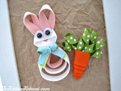 Easter Ribbon Sculptures - {The Ribbon Retreat Blog} wonder if I could make these into hair clips!