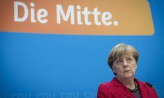 German chancellor says solution requires time after anti-immigrant Alternative für Deutschland makes gains in state polls