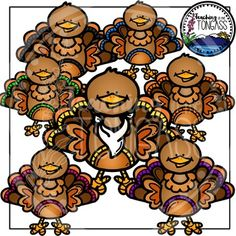 Happy Thanksgiving! This adorable clipart bundle features a variety of colorful turkeys, plus a bib to layer on any of the turkeys! It includes 10 individual, colored graphics (as seen in the preview) and 1 individual black and white graphic. Includes high quality graphics in PNG (transparent background) and JPG (white background) formats.
