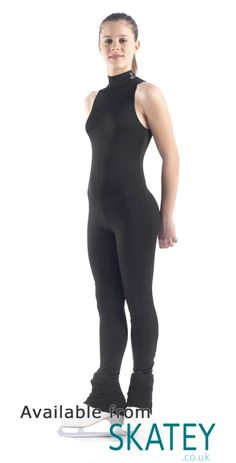 Skating Catsuit With Heel Cover Trousers. Ice Skating Dresses, Skate Wear, Dance Outfits, Catsuit, Character Inspiration, Trousers, Sporty, Heels, Swimwear
