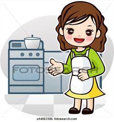 Drawings of Cooking Utensils u17989434 - Search Clip Art ...