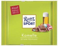 RITTER SPORT Fake Schokolade Kamelle