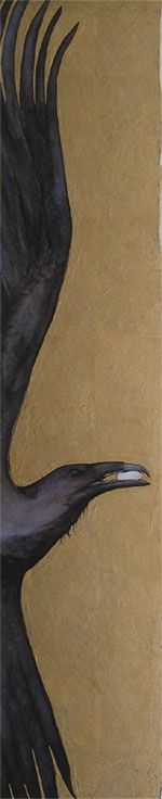 "Crows Ravens:  #Raven ~ ""The Thief Lord,"" by Jackie Morris."