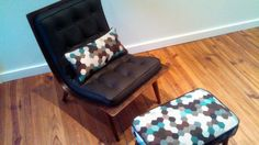 I want that chair and ottoman. Maxwell Street by Carnegie Carnegie Fabrics, Chair And Ottoman, Floor Chair, Your Favorite, Furniture Design, Upholstery, Street, Home Decor, Tapestries