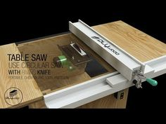 DIY Table Saw portable - How to make a homemade Table Saw with spliter riving kn. - DIY Table Saw portable – How to make a homemade Table Saw with spliter riving knife use Circular -